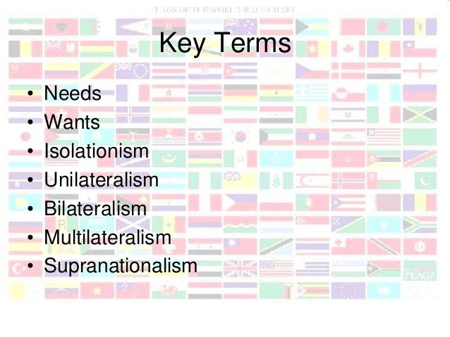internationalism and isolationism Since world war i, us policy has been split between isolationism and  internationalism from debates over joining the league of nations to.