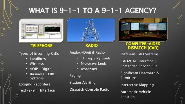 911 & Evolution of Technologies