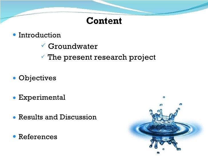 <ul><li>Introduction </li></ul><ul><ul><ul><ul><ul><li>Groundwater </li></ul></ul></ul></ul></ul><ul><ul><ul><ul><ul><li>T...