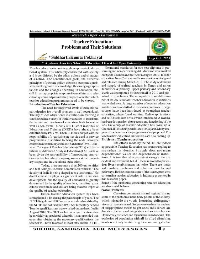 9SHODH, SAMIKSHA AUR MULYANKAN International Indexed & Refereed Research Journal, ISSN 0974-2832, (Print), E- ISSN- 2320-5...