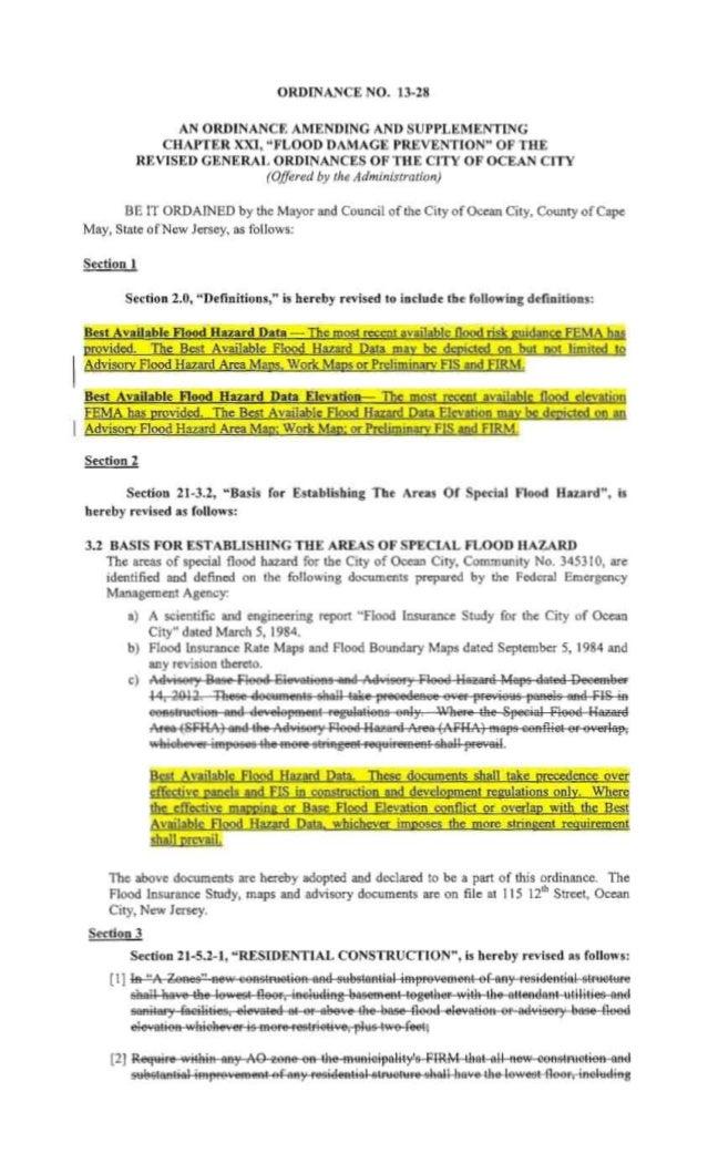 Ocean City Council agenda Sept. 12, 2013