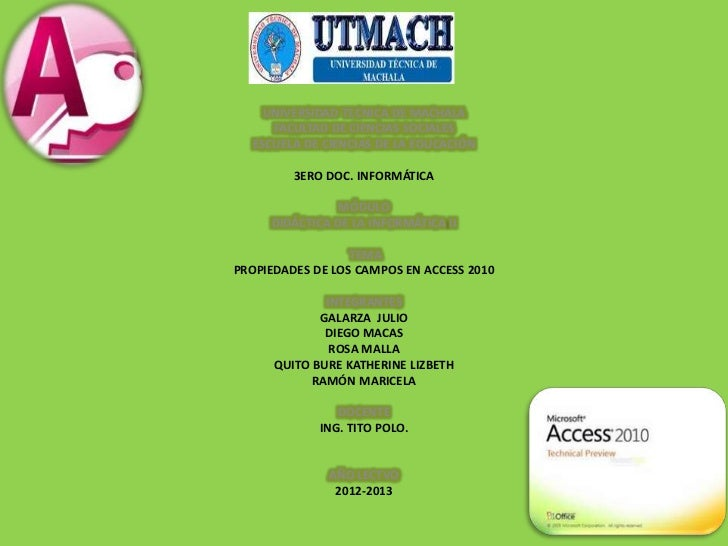 UNIVERSIDAD TECNICA DE MACHALA     FACULTAD DE CIENCIAS SOCIALES  ESCUELA DE CIENCIAS DE LA EDUCACIÓN         3ERO DOC. IN...