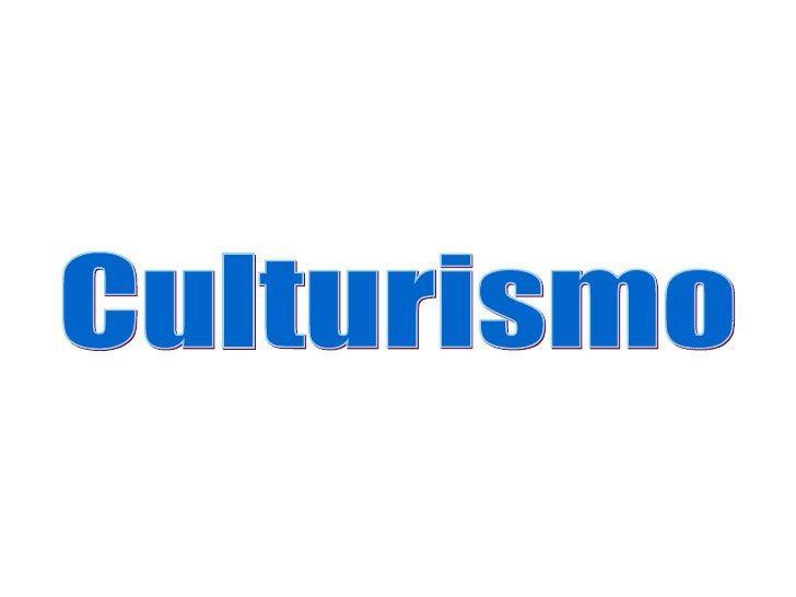 Culturismo