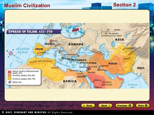 World history ch 9 section 2 notes muslim civilization section 2 gumiabroncs Images