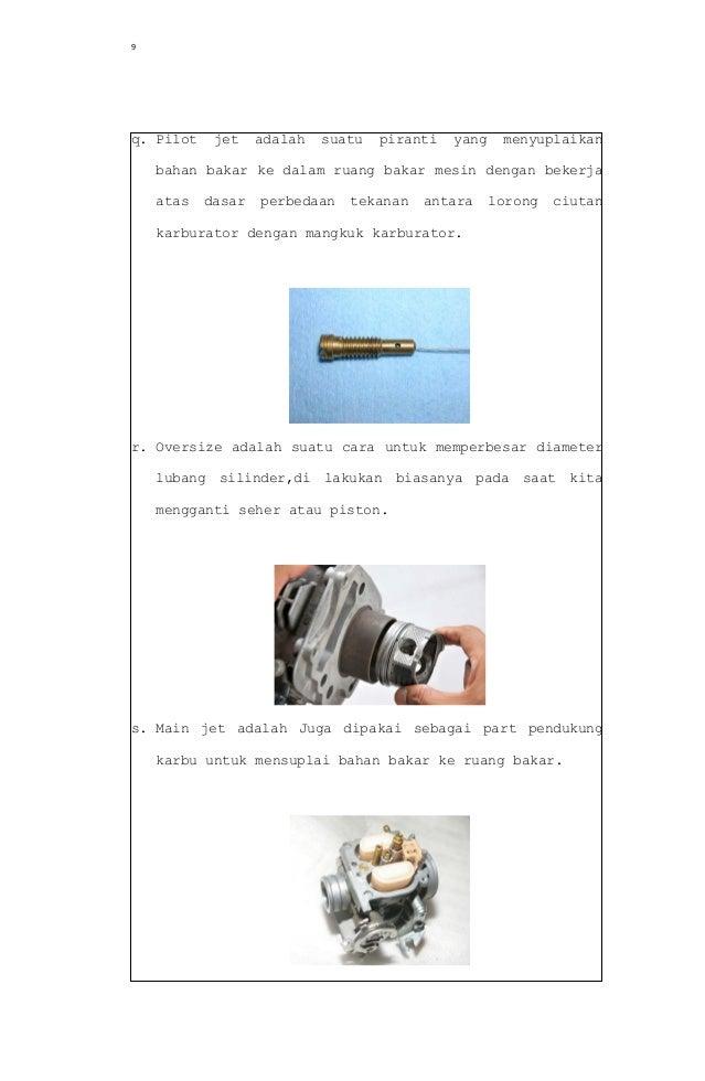 Soal Dan Jawaban No 9 Tugas Pendahuluan Motor Bensin Teknik Mesin