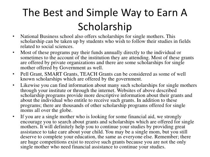 why scholarships is important