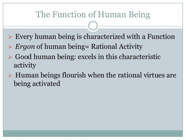 Example Of Human Nature Ethics