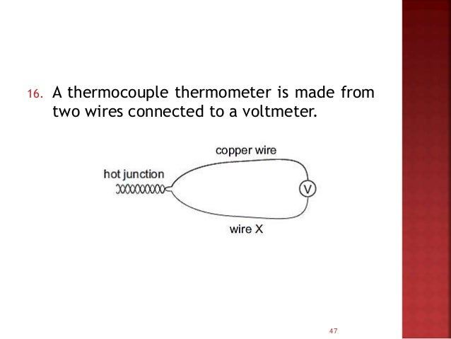 47 16 A Thermocouple Thermometer