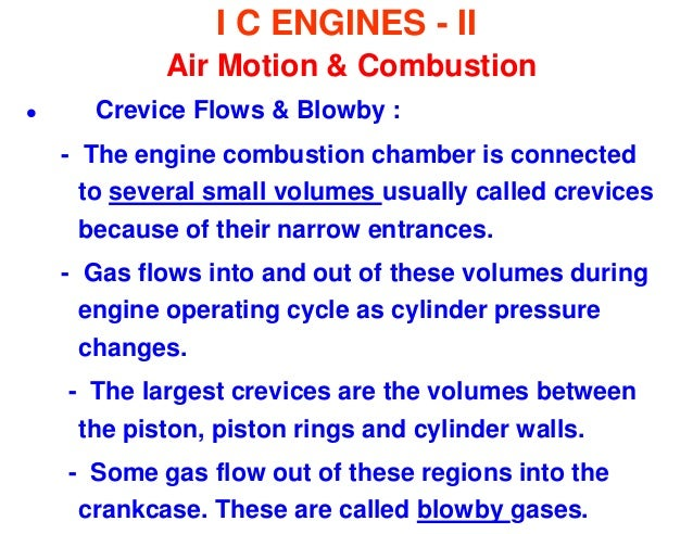 Air-Motion in Engine Cylinder