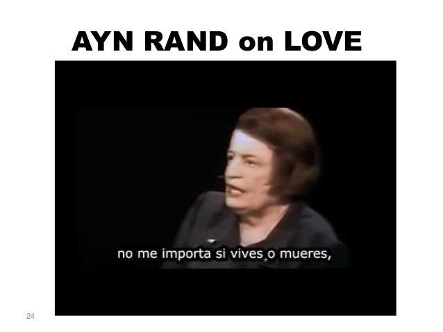AYN RAND on LOVE 24