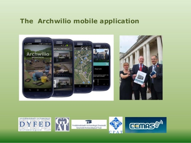 The Archwilio mobile application
