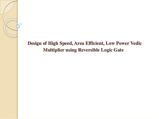 Final design of reversible gates using