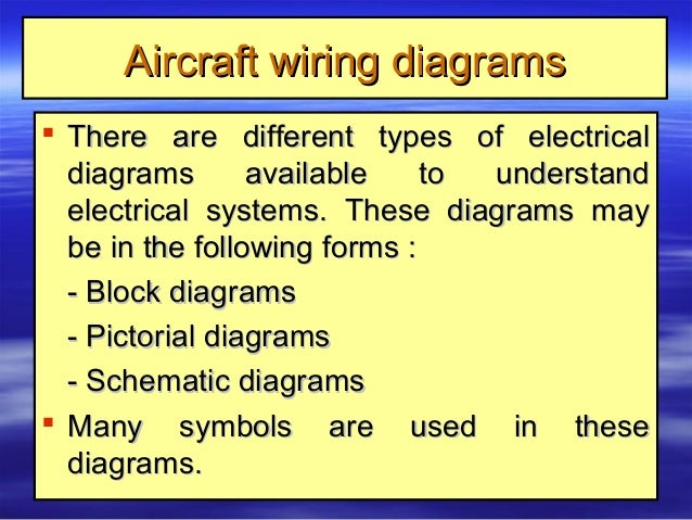 9 aircraft electrical systems Different Types Of Wiring Diagrams electrical wire size measurementelectrical wire size measurement; 64 aircraft wiring diagramsaircraft wiring diagrams  there are different types different types of wiring diagrams