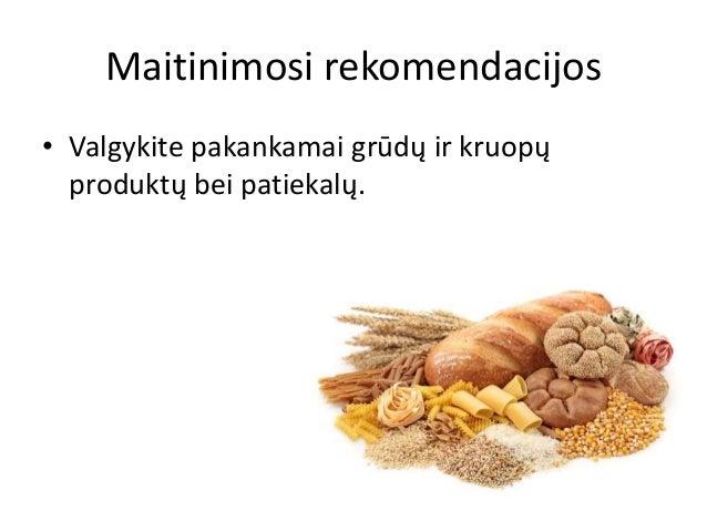 Mityba sergant reumatoidiniu artritu