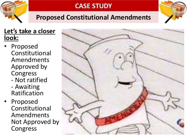 How And Why Does The Constitution Change