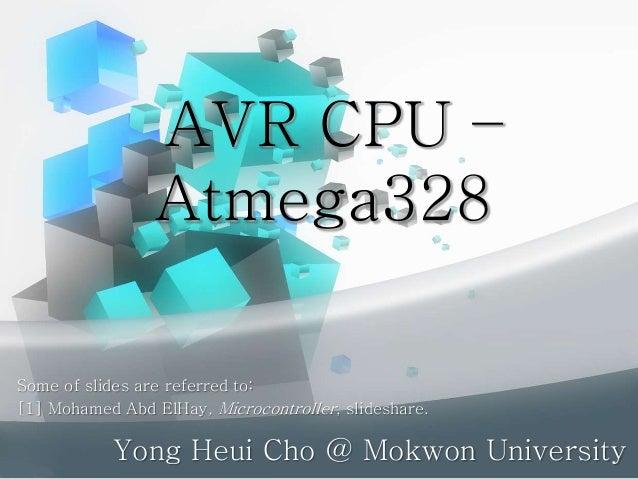 AVR CPU - ATmega328