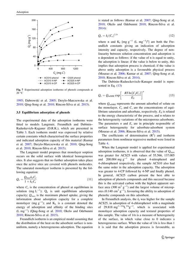 1995; Dabrowski et al. 2005; Derylo-Marczewska et al. 2010; Qing-Song et al. 2010; Rincon-Silva et al. 2015). 3.5 Equilibr...