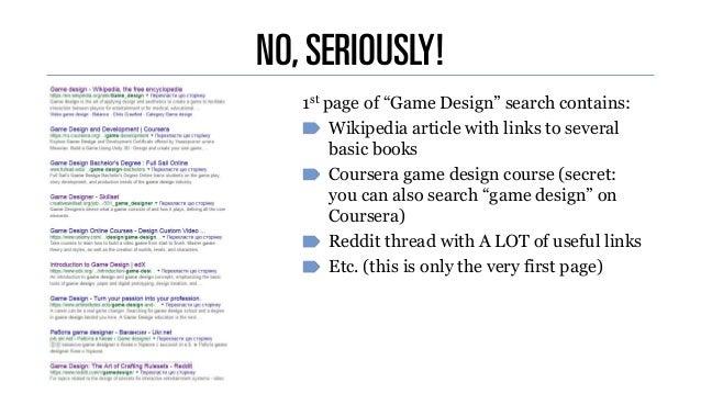 """Андрій Доценко """"Game Designer's Journey"""""""