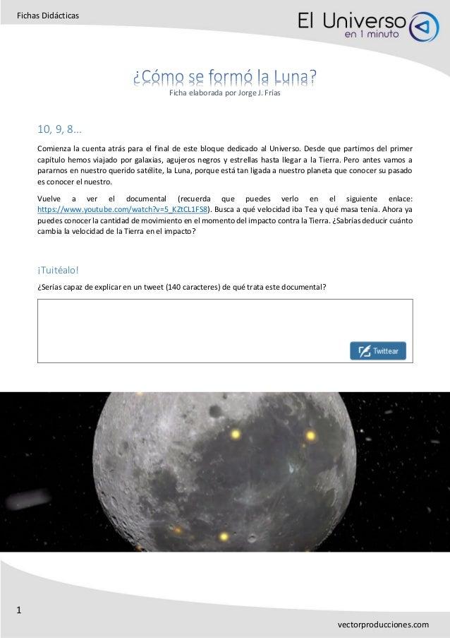 1 Fichas Didácticas vectorproducciones.com Ficha elaborada por Jorge J. Frías 10, 9, 8... Comienza la cuenta atrás para el...
