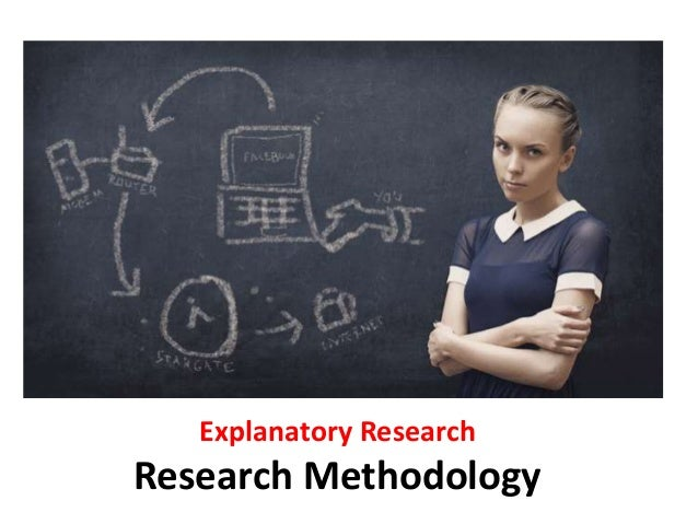 Explanatory research methods