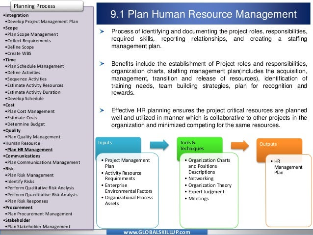 Online PMP Training Material for PMP Exam - Human Resources Managemen…