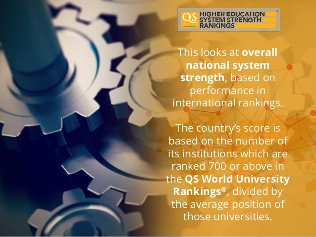 QS Higher Education System Strength Ranking Focus On South Korea
