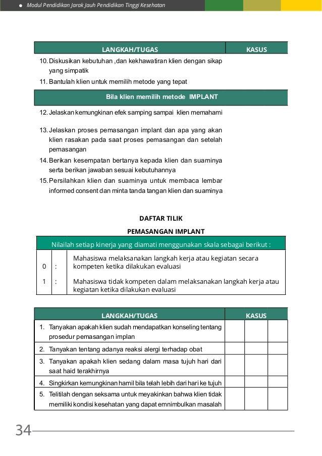 Modul Pendidikan Jarak Jauh Pendidikan Tinggi Kesehatan 34 LANGKAH/TUGAS KASUS 10.Diskusikan kebutuhan ,dan kekhawatiran ...