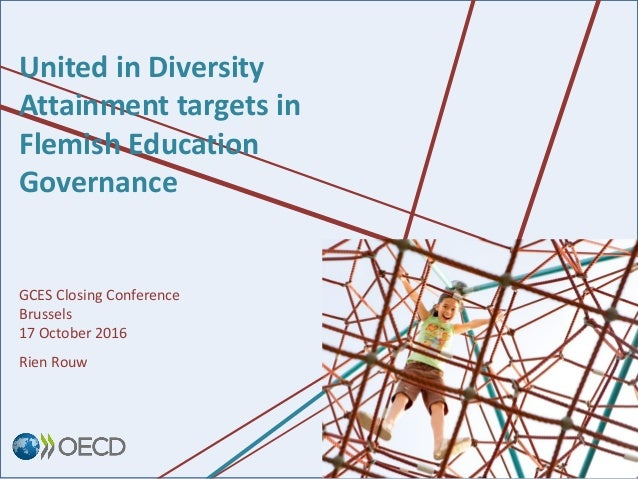United in Diversity Attainment targets in Flemish Education Governance GCES Closing Conference Brussels 17 October 2016 Ri...