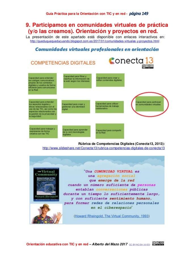Guía Práctica para la Orientación con TIC y en red - página 149 Orientación educativa con TIC y en red – Alberto del Mazo ...