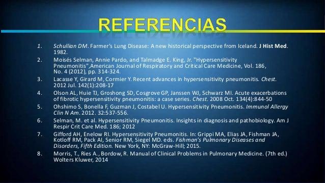 Neumonitis por hipersensibilidad (hp) Slide 2