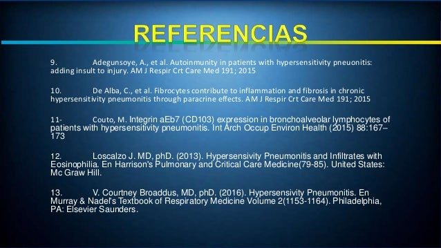 Neumonitis por hipersensibilidad (hp) Slide 3