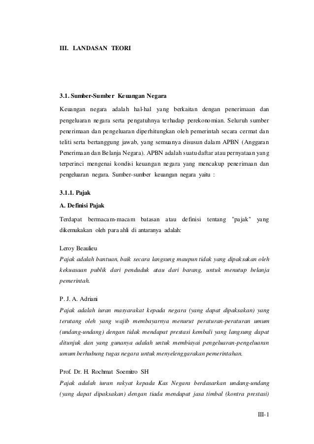 9 Bab Iii Landasan Teori
