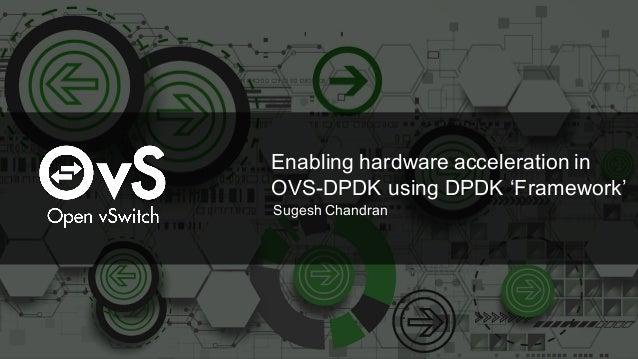 Enabling hardware acceleration in OVS-DPDK using DPDK 'Framework' Sugesh Chandran