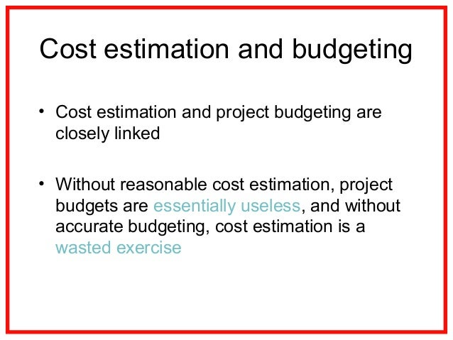 09  Project Cost Management