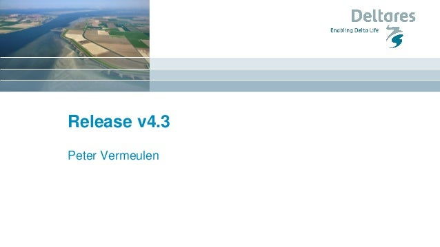 Release v4.3 Peter Vermeulen