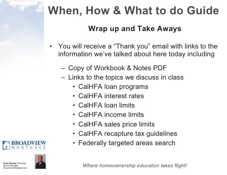 A Complete Guide to CalHFA First Time Homebuyer Programs - Cal30 & CH…