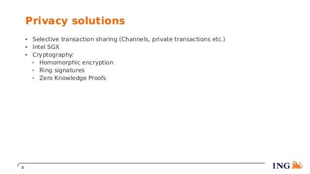 Cees van Wijk - How to preserve privacy on a blockchain? Slide 3
