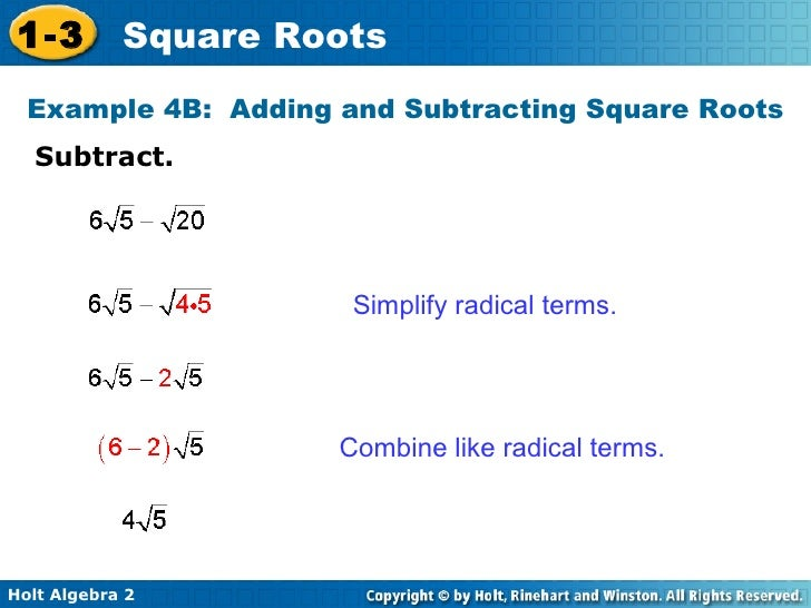Algebra 2 919 Simplifying Square Roots – Simplifying Radicals Worksheet Algebra 2
