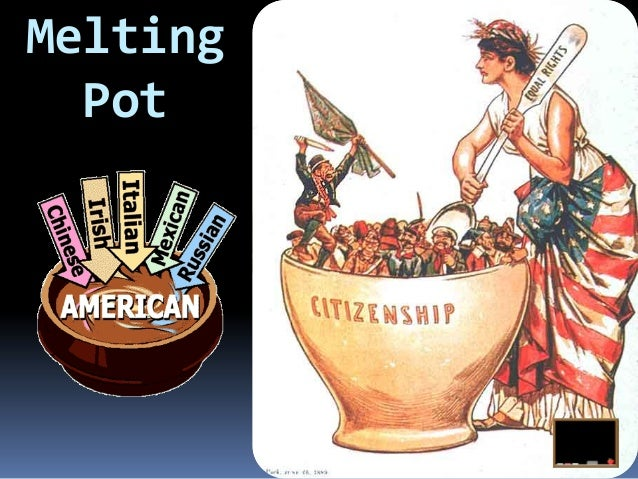america the melting pot America, the melting pot america, the land of opportunity mr trump, i've heard that your family are immigrants who built themselves up from the bottom.