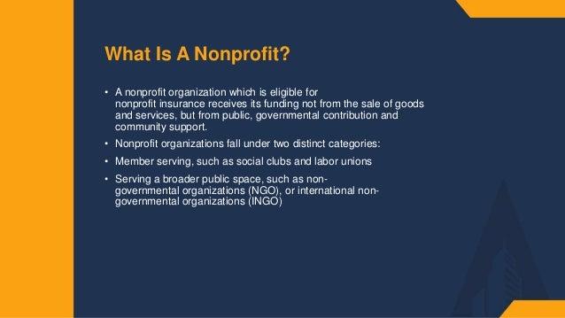Insurance for Non-Profits Slide 2