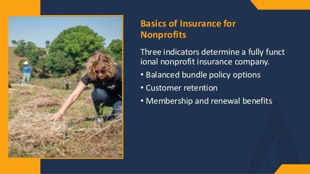 Insurance for Non-Profits Slide 3