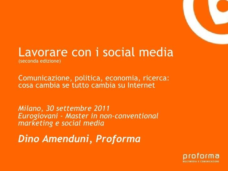 Strategia di comunicazione Gianni Florido e la Provincia di Taranto Lavorare con i social media   (seconda edizione) Comun...
