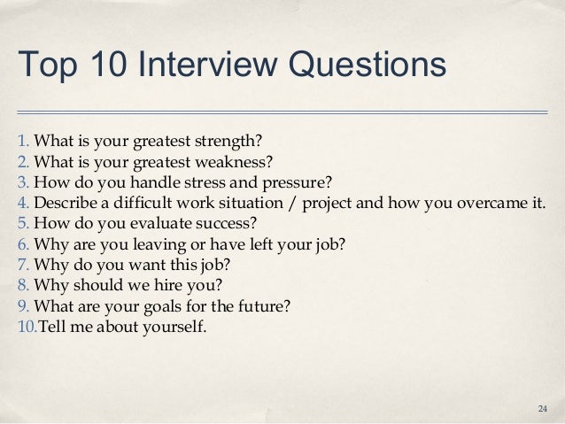 9 3 job interviews lecture slides