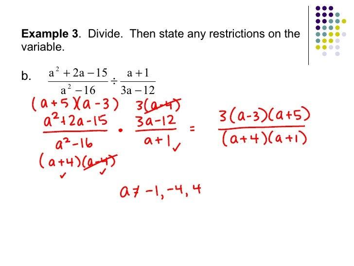 Multiplying and dividing rational expressions worksheet glencoe ...