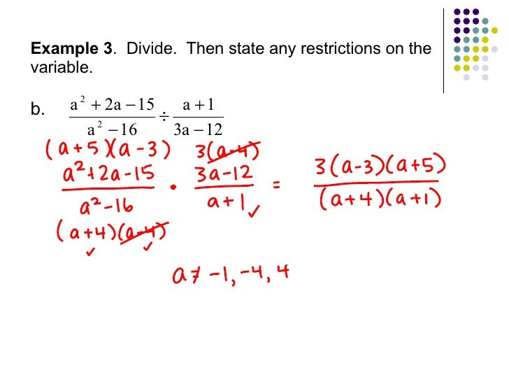 Multiplying and dividing rational expressions worksheet glencoe ...