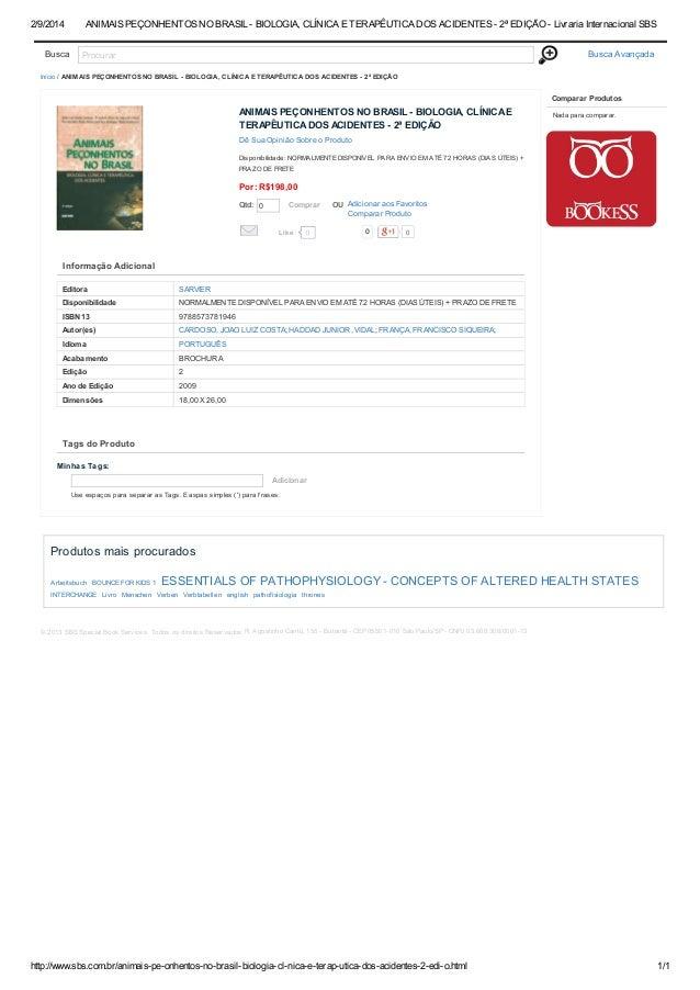 0e5e3dfa4bb07 9 animais peçonhentos no brasil - biologia, clínica e terapêutica do…