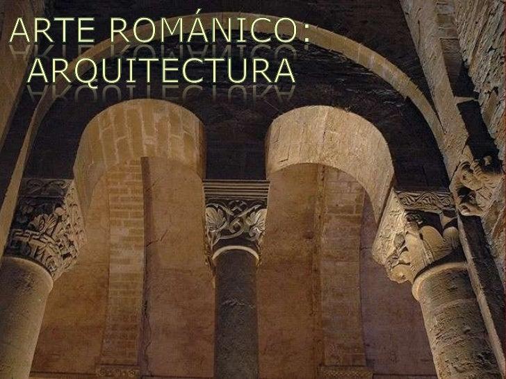 ARTE ROMÁNICO Slide 1