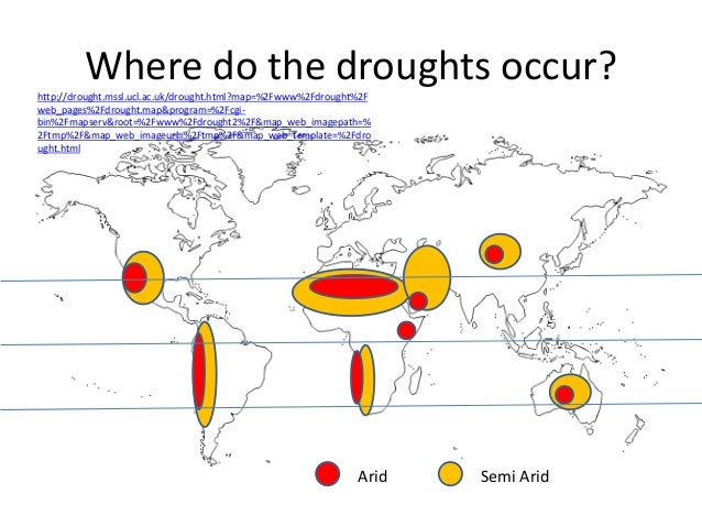 9.causes of droughts