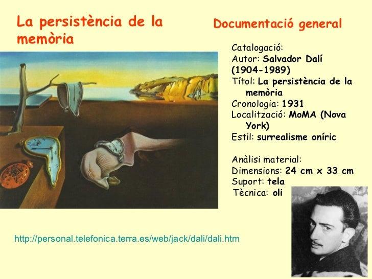 Dalí: Persistència de la memòria