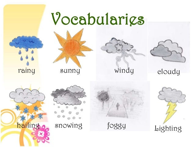 9 describing weather